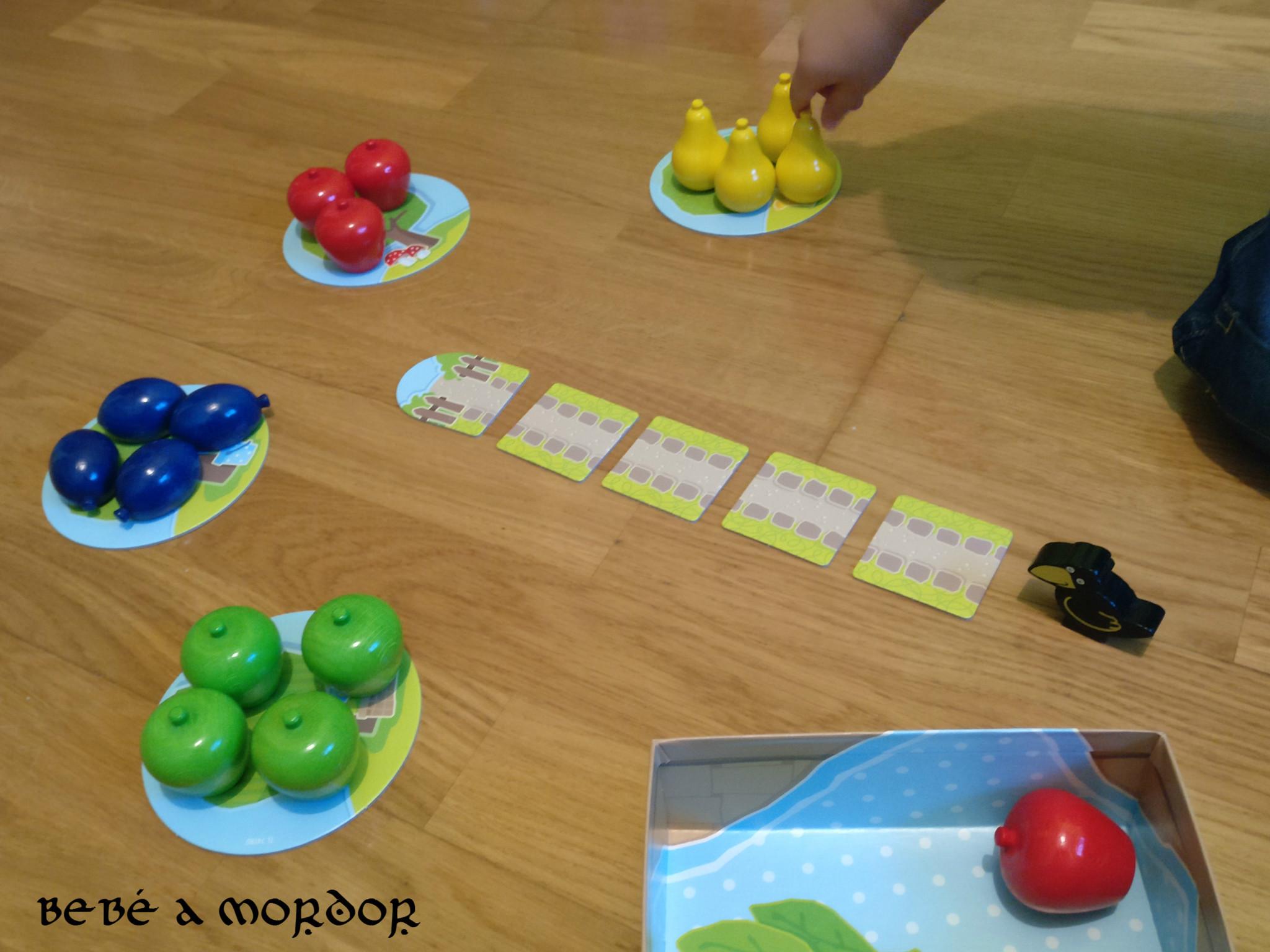 juego cooperativo para tolerar frustración Primer Frutal