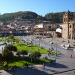 Vista de la ciudad de Cuzco.