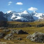 Cordillera de Huaraz, camino de Pastoruri.