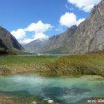 Laguna de Llanganuco. Azul verídico.