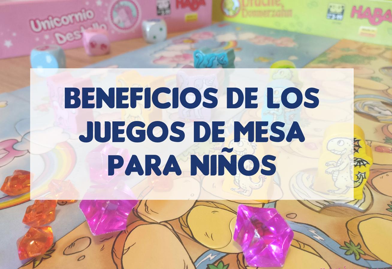 beneficios juegos de mesa niños