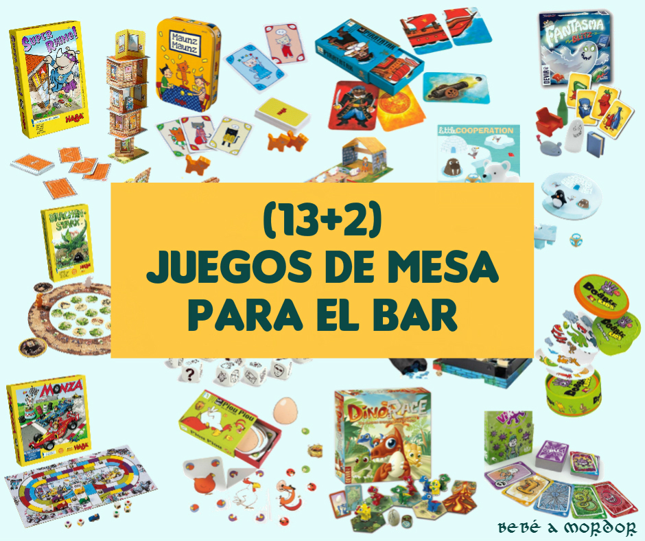 13 2 Juegos De Mesa Familiares Para Disfrutar En Tu Bar Cafe Bebe
