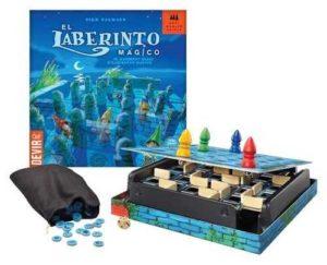 juegos de mesa para niños/as desde 6 años Laberinto Mágico