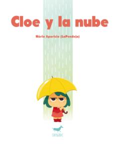 portada cómic infantil para niños de 3 años Cloe y la nube de Sallyboks