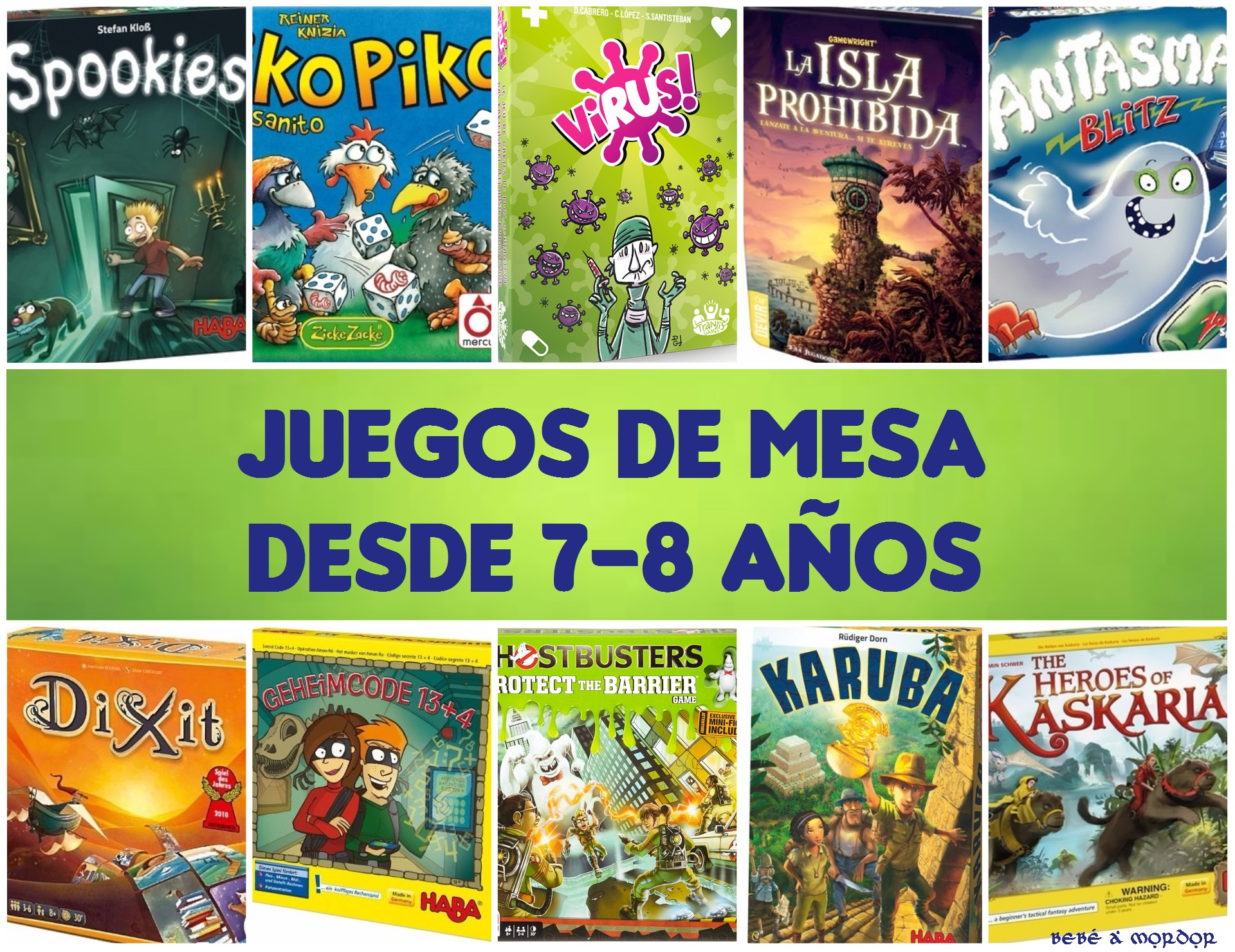 Juegos En Familia 10 Juegos De Mesa Para Ninos Desde 7 8 Anos