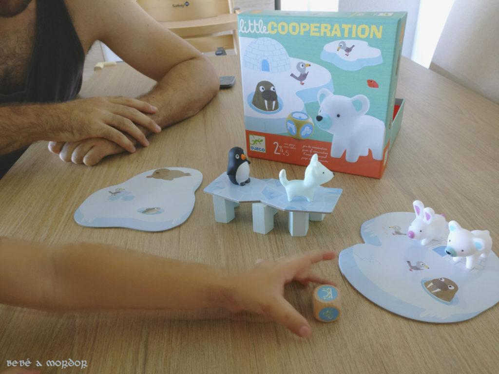 juego para tolerar frustración Little Cooperation Djeco