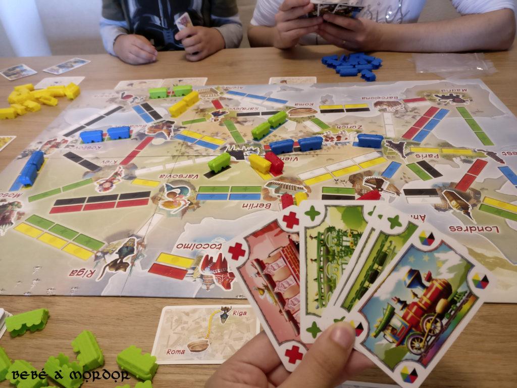 juego de mesa Aventureros al Tren El Primer Viaje
