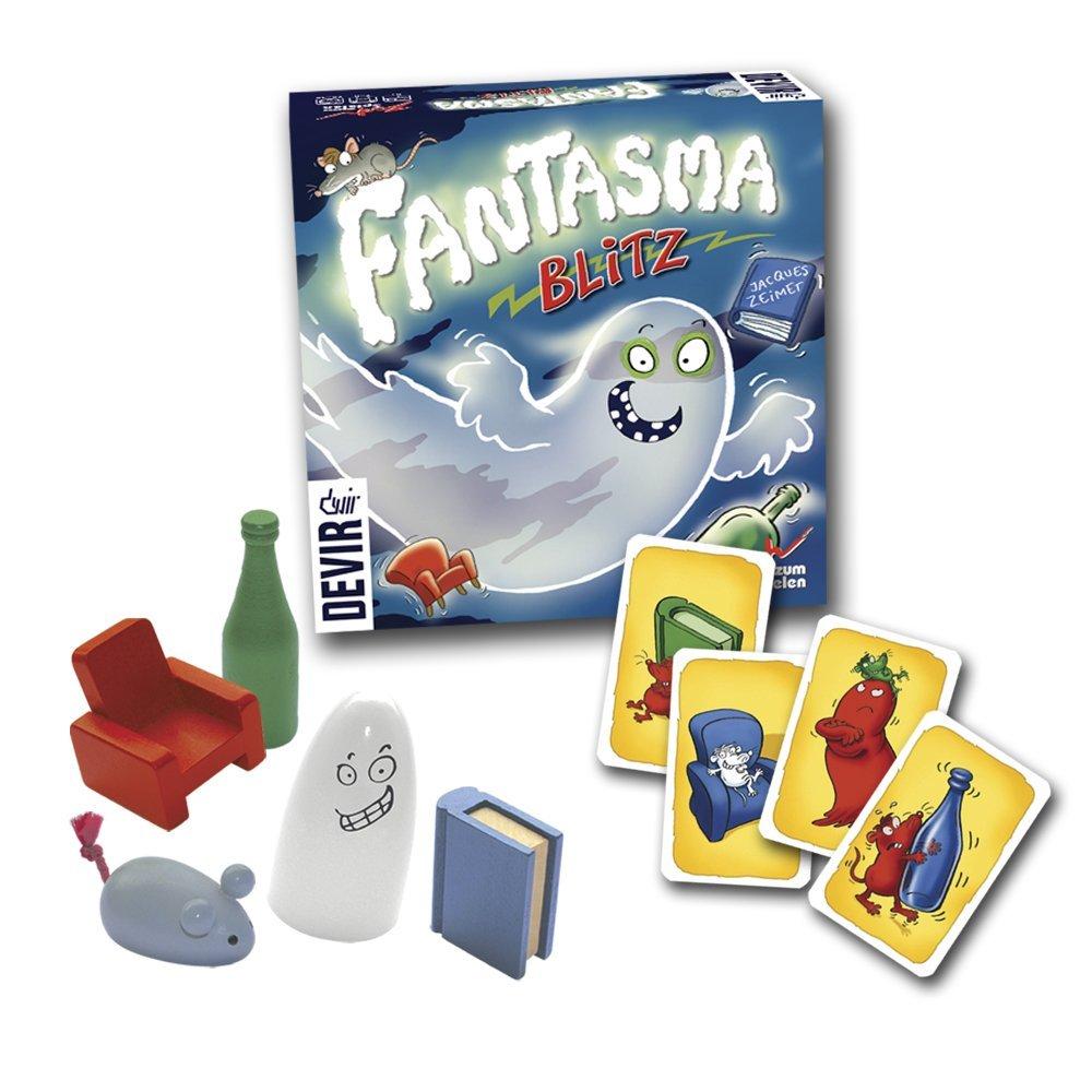 juego de mesa Fantasma Blitz Devir flexibilidad cognitiva