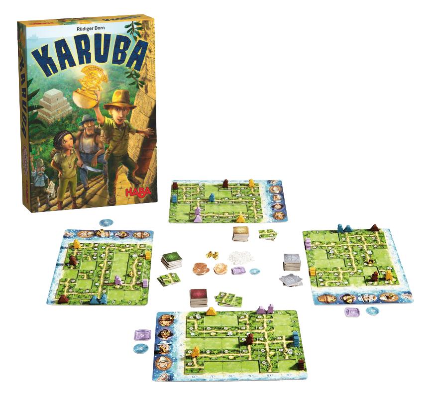 Karuba juego de mesa de Haba
