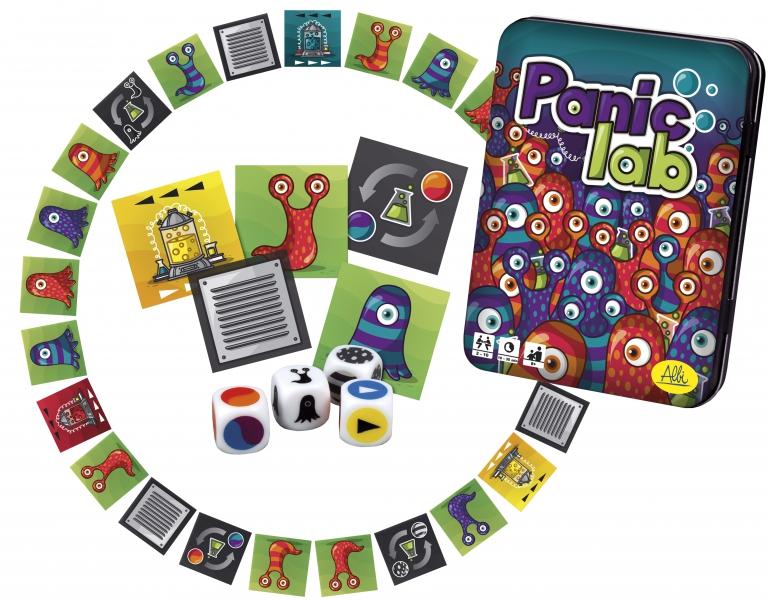 juego de mesa Panic Lab flexibilidad cognitiva