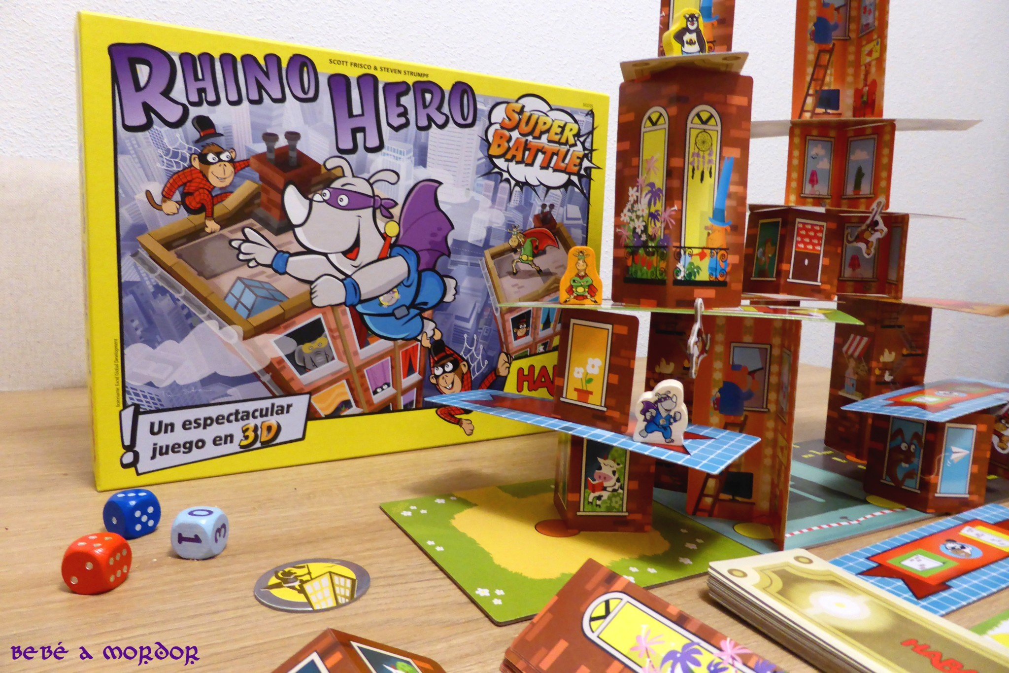 Rhino Hero Super Battle de Haba