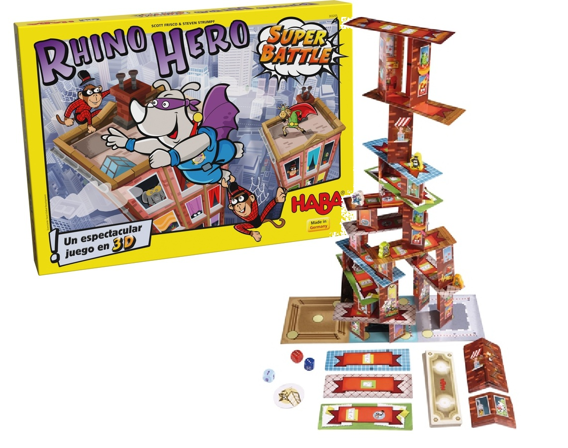 Rhino Hero Super Battle - Haba