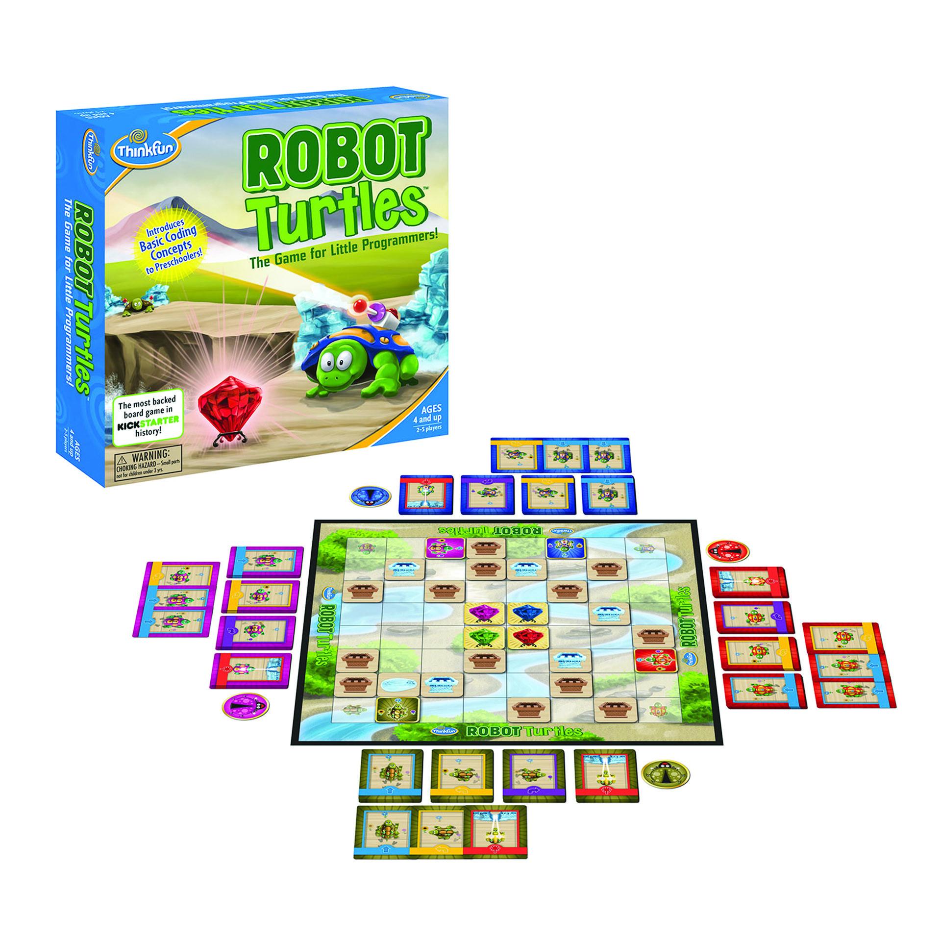 Robot Turtles juego mesa programación para niños