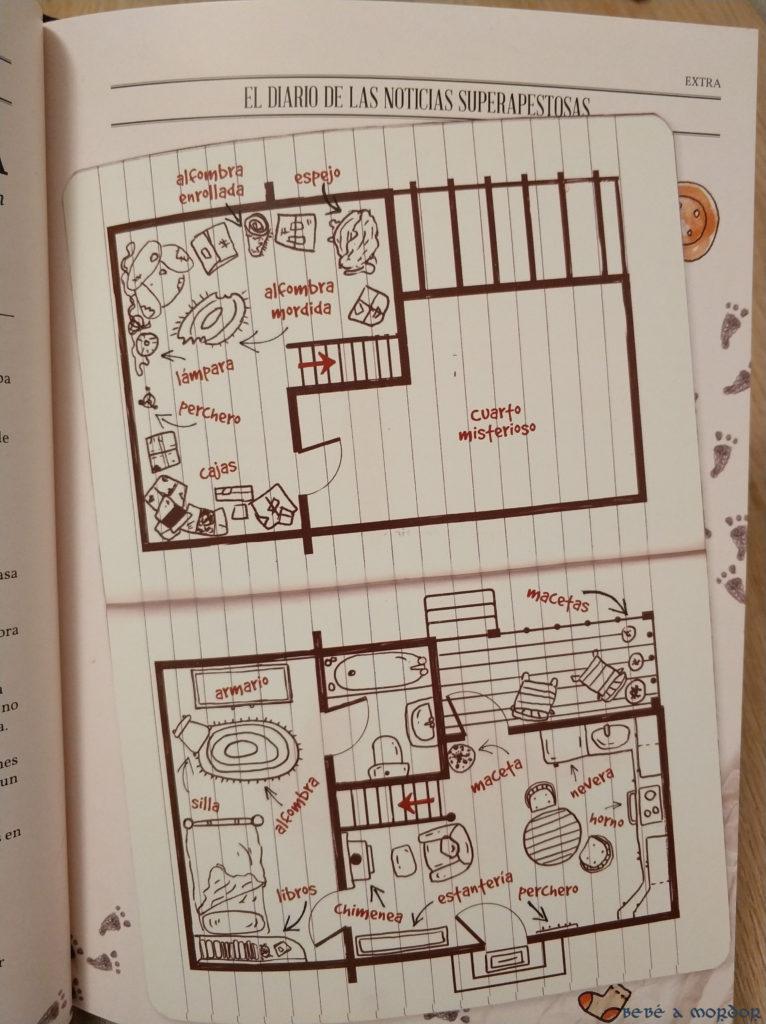 Mapas Planos y Pistas Pequeños Detectives de Monstruos