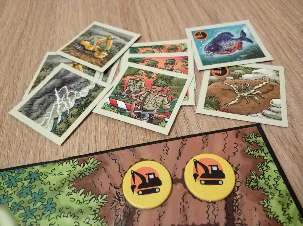 Ekilikua excavadoras y cartas Expedición Amazonas