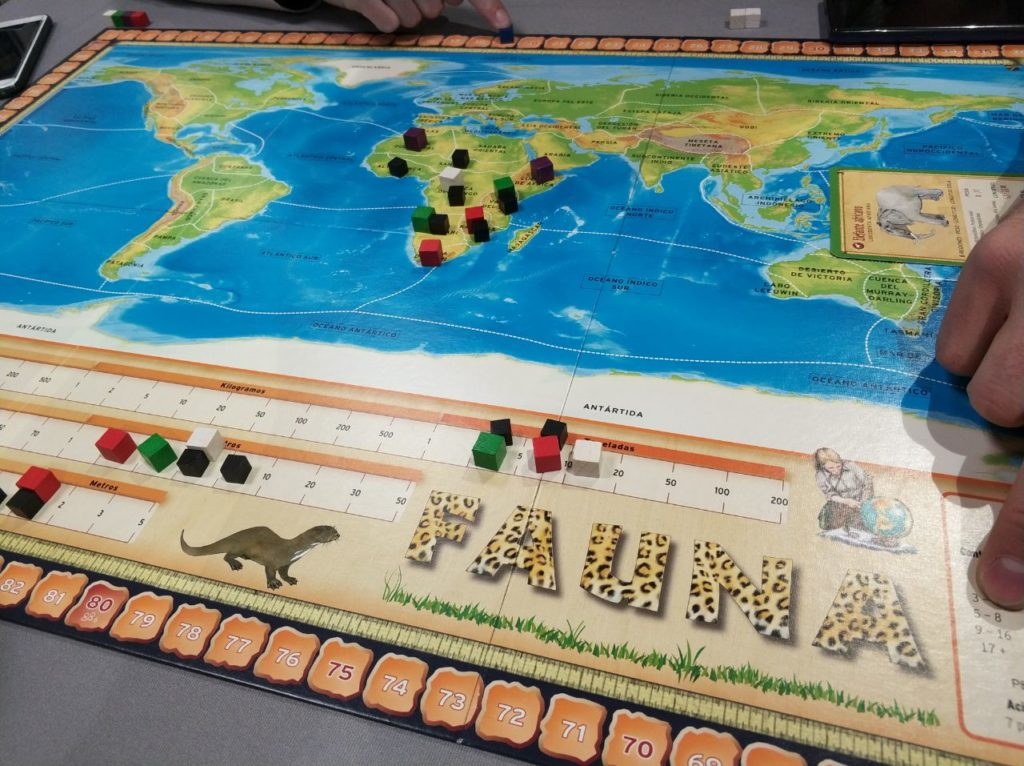 Fauna mapa Devir