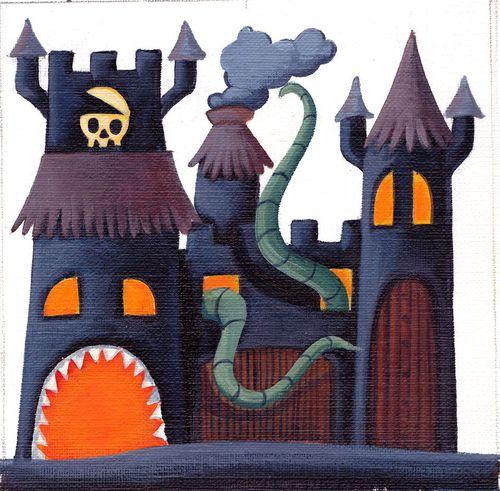Cartillo terror Steam Park