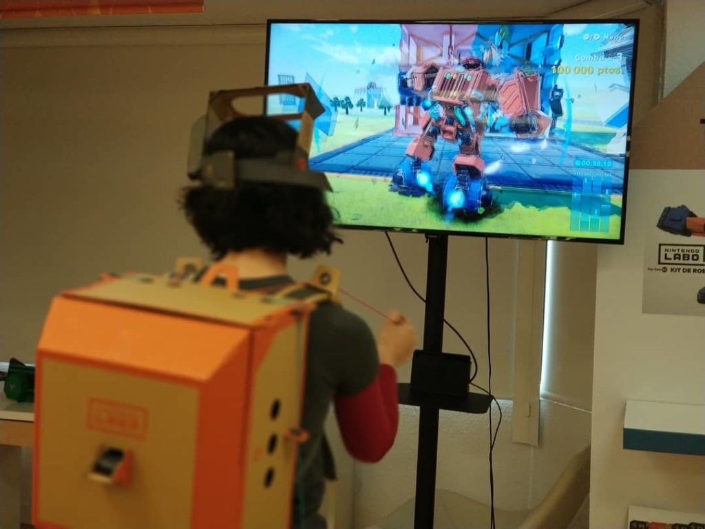 Nintendo Labo para niños Toy Con robot