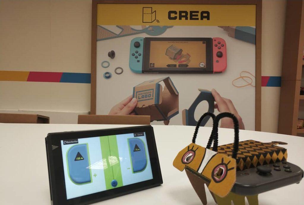 Toy Con personalizado Nintendo Switch Labo Antenauta