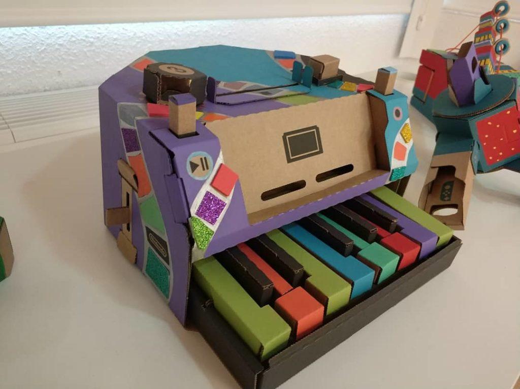 Toy Con piano personalizado
