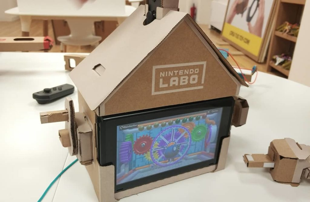 Nintendo Labo para niños Casa