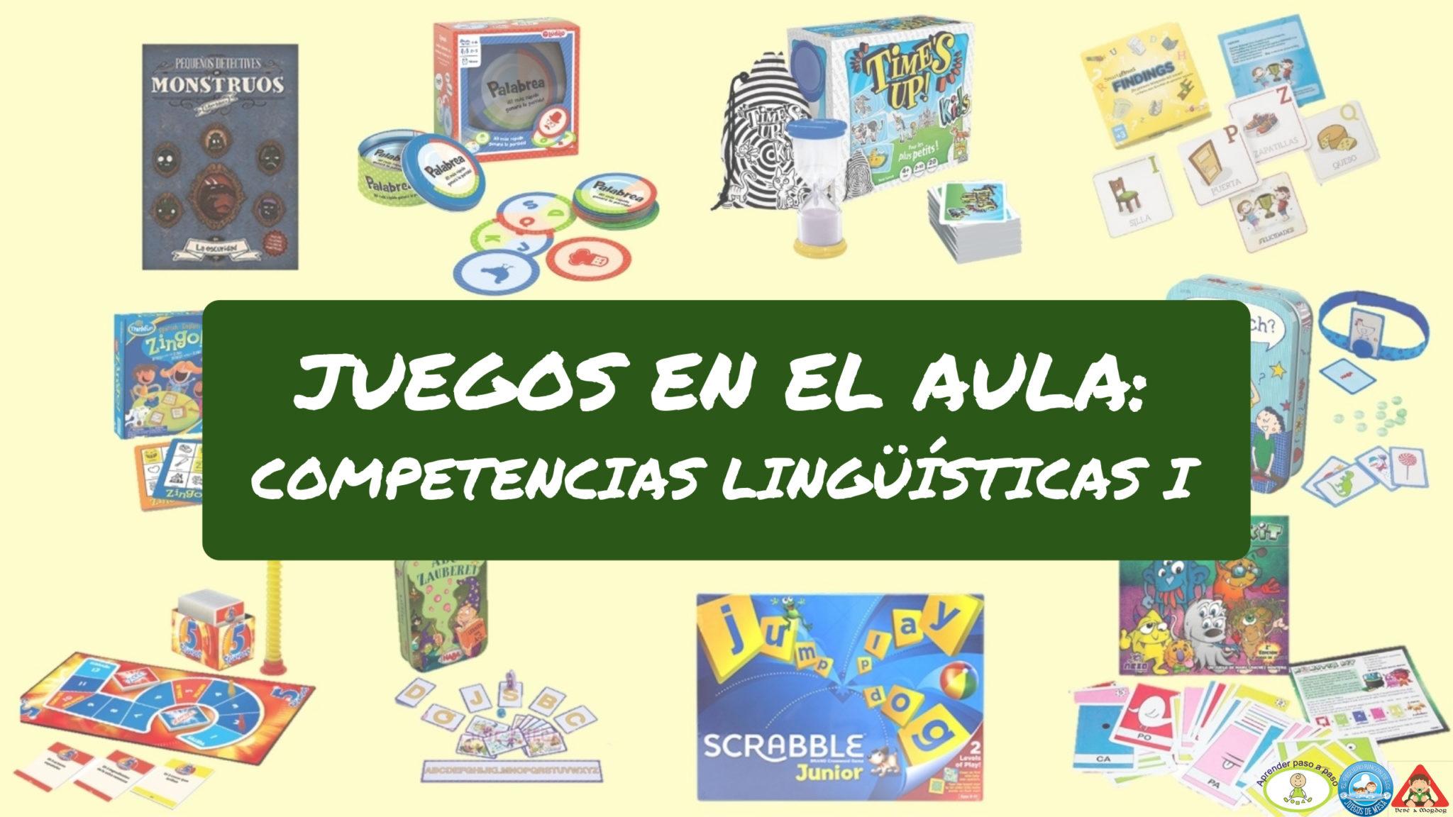 Efecto Ludico Juegos Por Asignaturas Competencias Linguisticas I