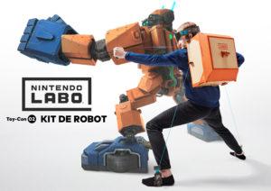 ToyCon02 Kit Robot Nintendo LAbo