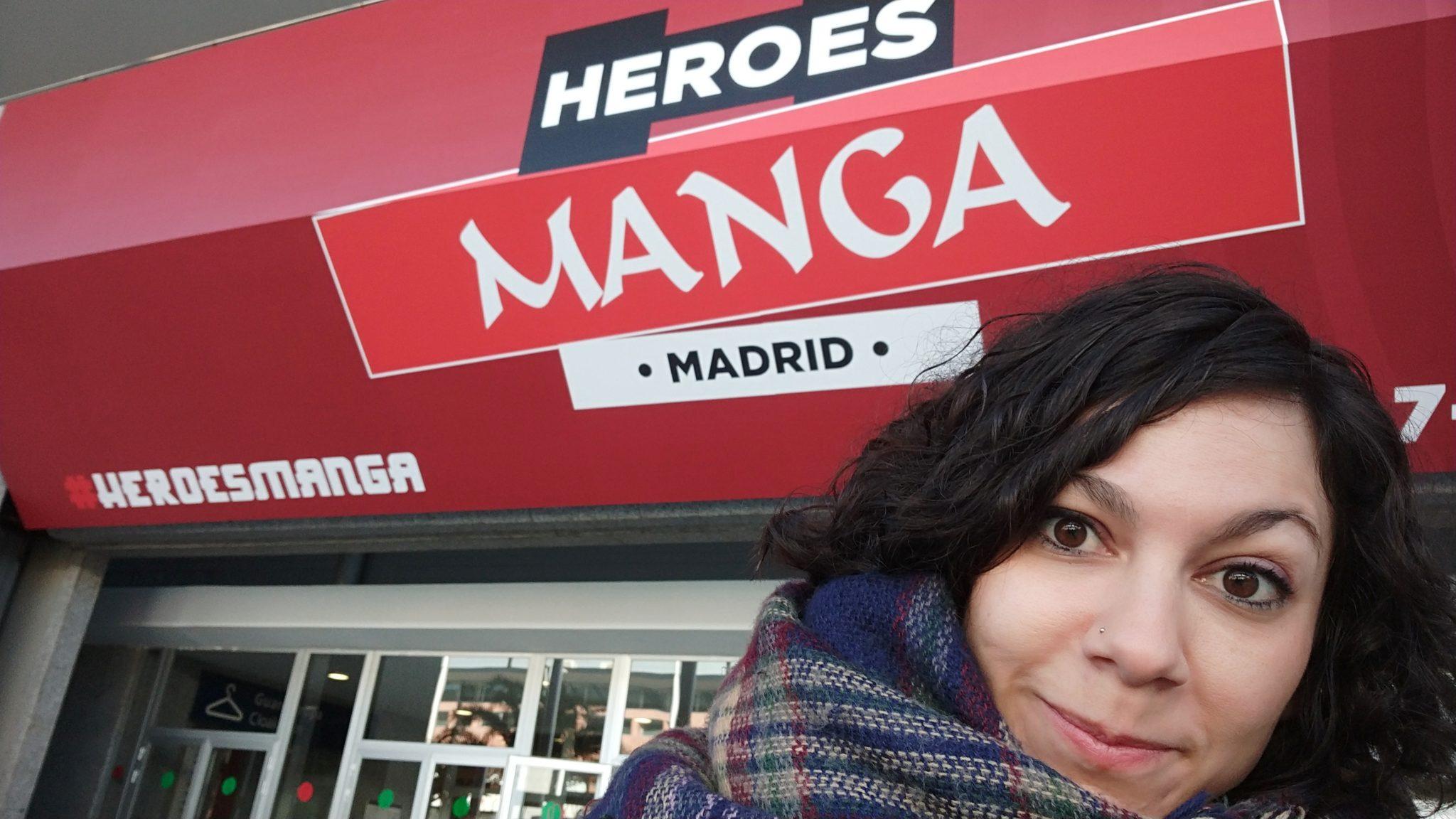 Juls en Heroes Manga Madrid