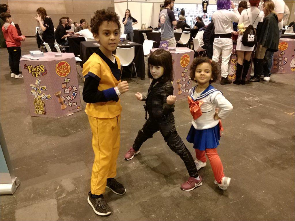 Fantástico equipo de cosplayers