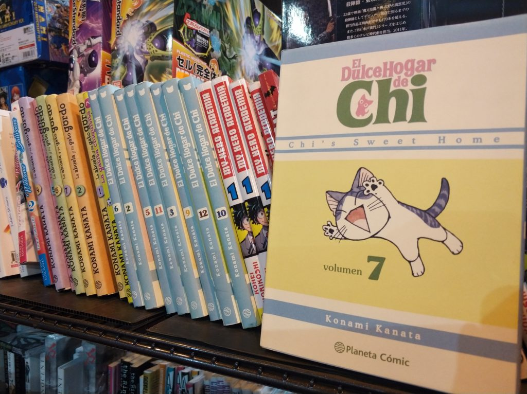 El dulce hogar de Chi, manga infantil en Heroes Manga Madrid 2018