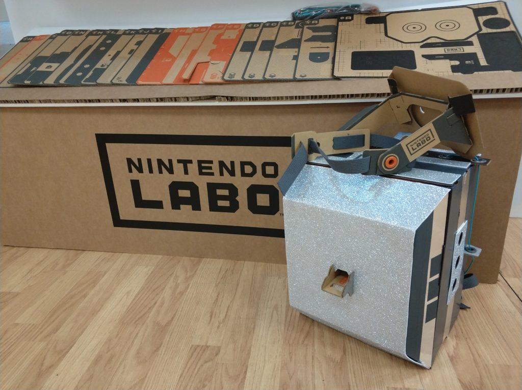 Nintendo Labo Kit 02 Robot personalizado