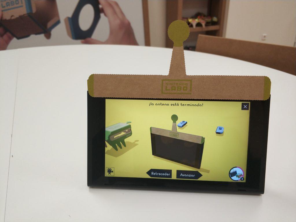 Nintendo Switch con Antena