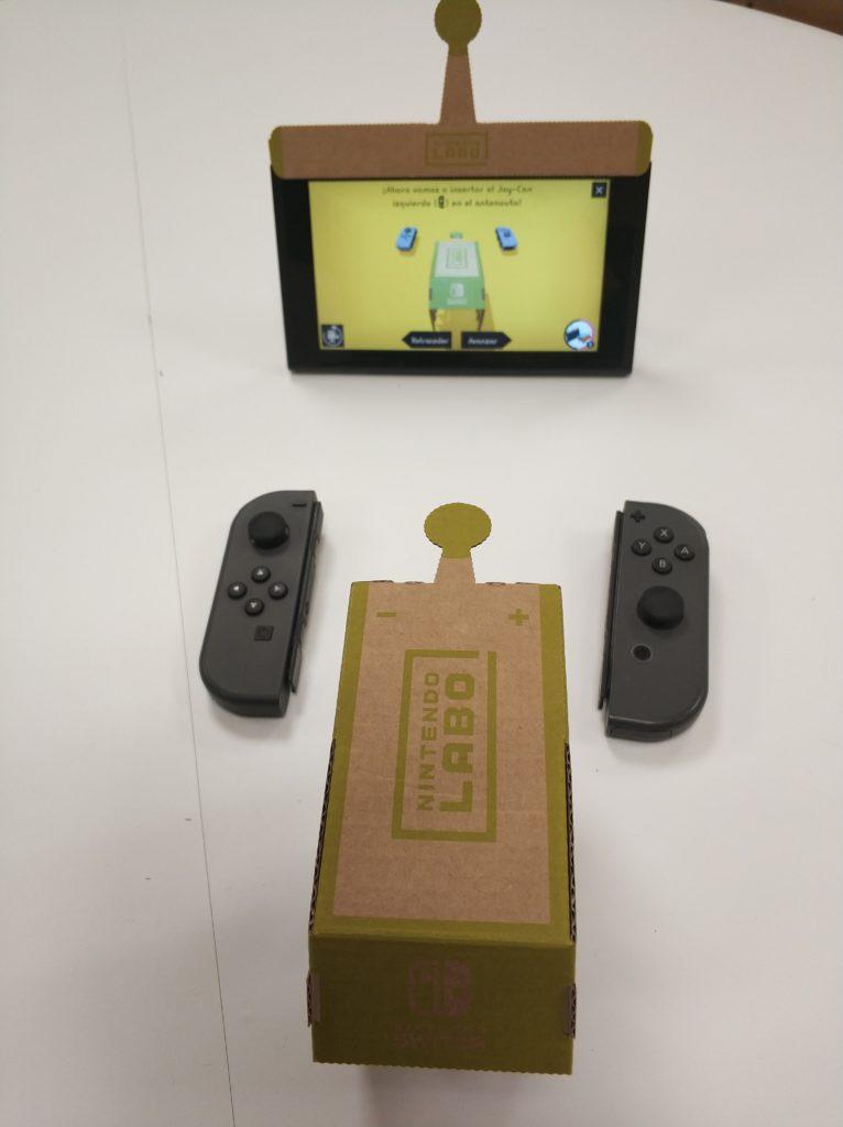 Nintendo Labo Tutorial Antenauta