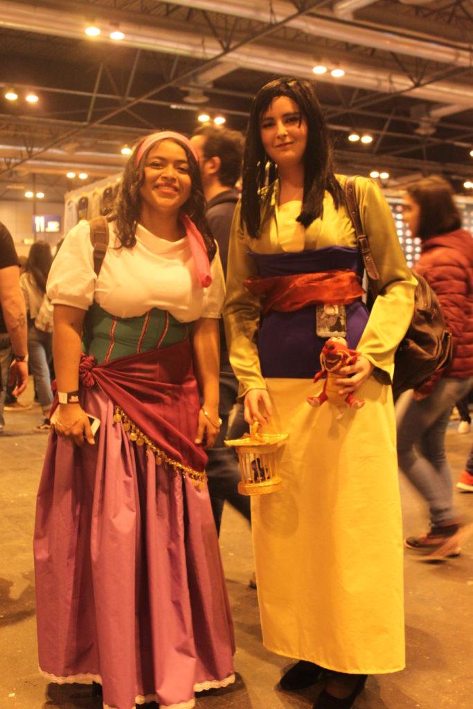Mulan y Esmeralda