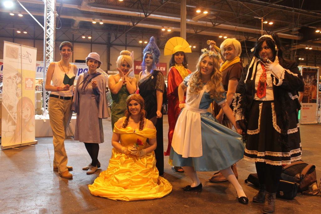 Princesas y protagonistas Disney