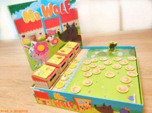 juego de mesa Mr Wolf Mercurio