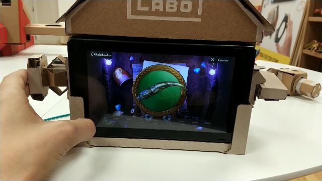 Nintendo Labo para niños casa juego