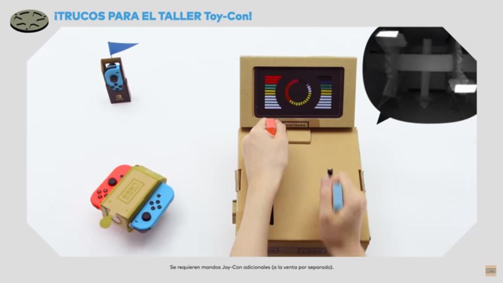 Nintendo Labo edades Taller ToyCon