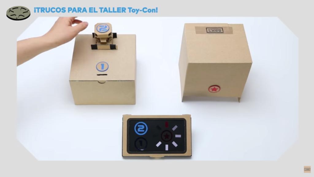 Taller ToyCon Nintendo Switch refuerzo creatividad