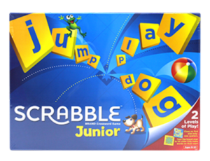 Juego de mesa asignatura lengua Scrabble Junior