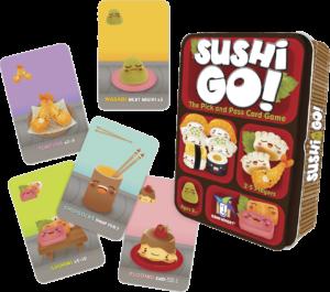 Juego de mesa Sushi Go Devir Matemáticas