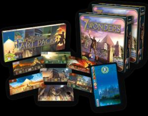 juego de mesa 7 Wonders Historia aula