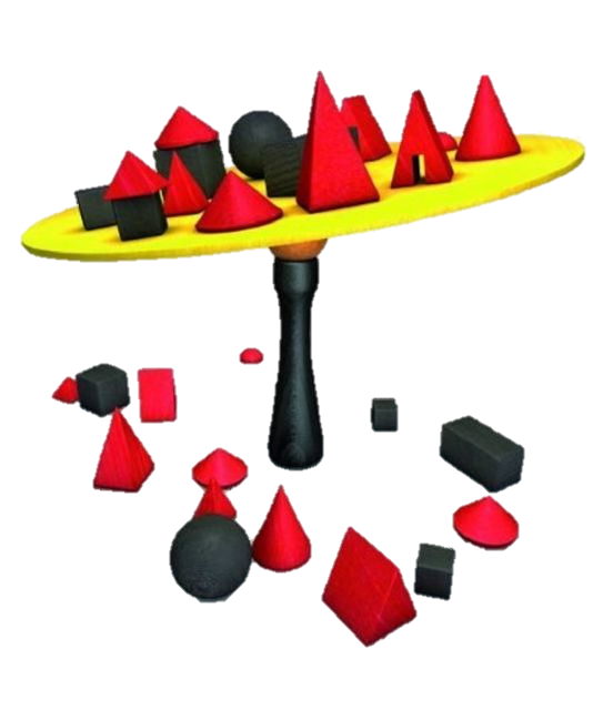 juego de mesa madera equilibrio Bamboleo
