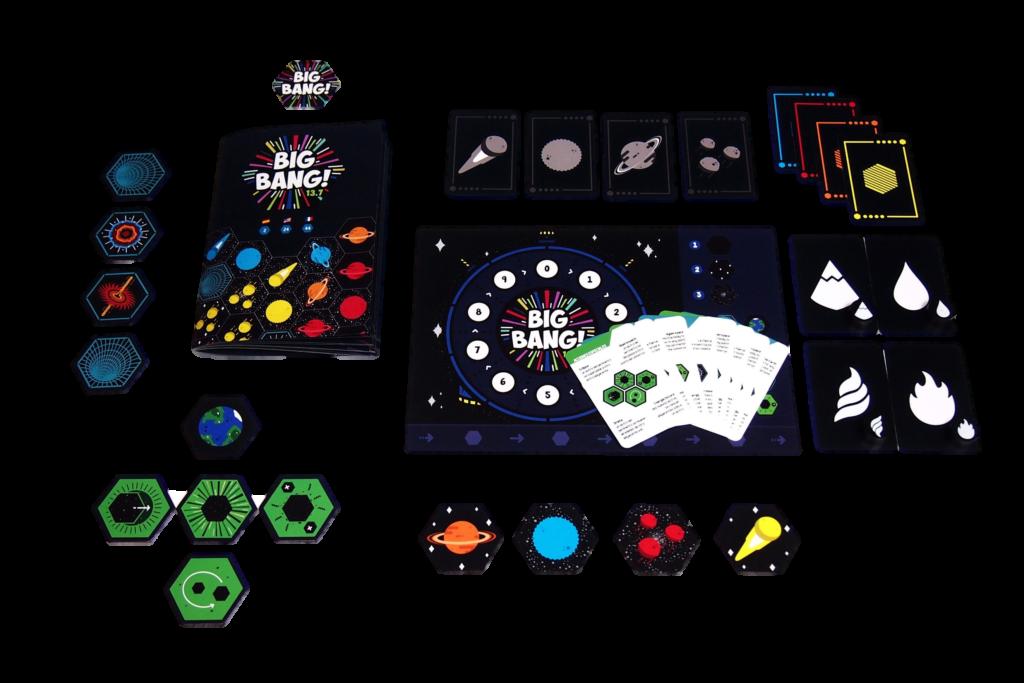 juego de mesa geología Big Bang 13.7