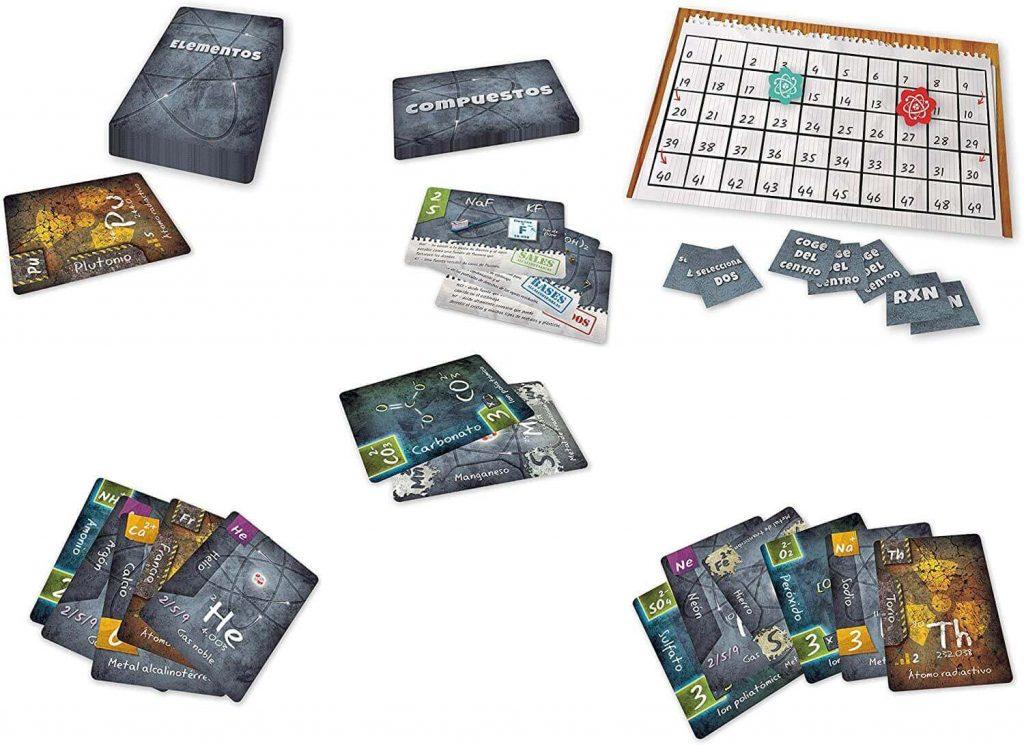 componentes juego de mesa Ion