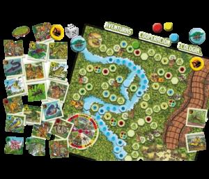 juego de mesa Naturaleza Expedición Amazonas