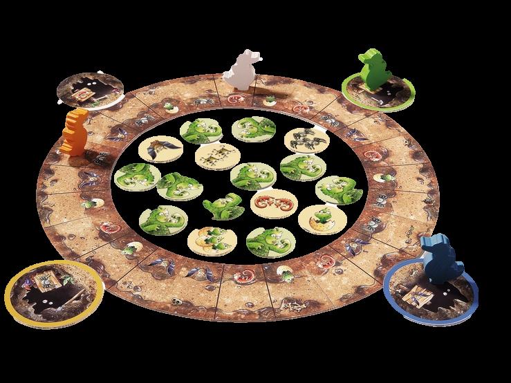 juego de mesa Fuerza de Dragón