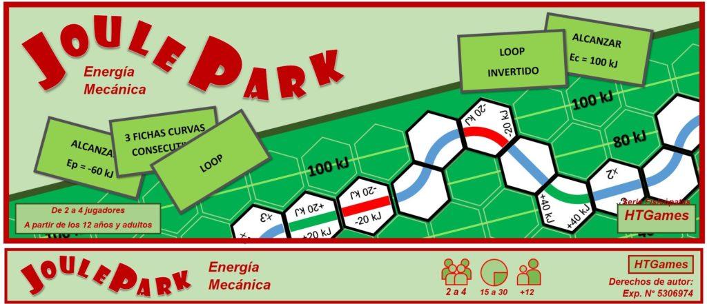 juego de mesa joule park