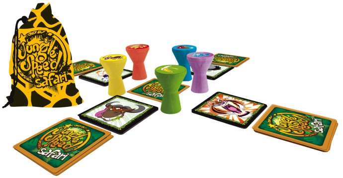 juego de mesa Jungle Speed Safari