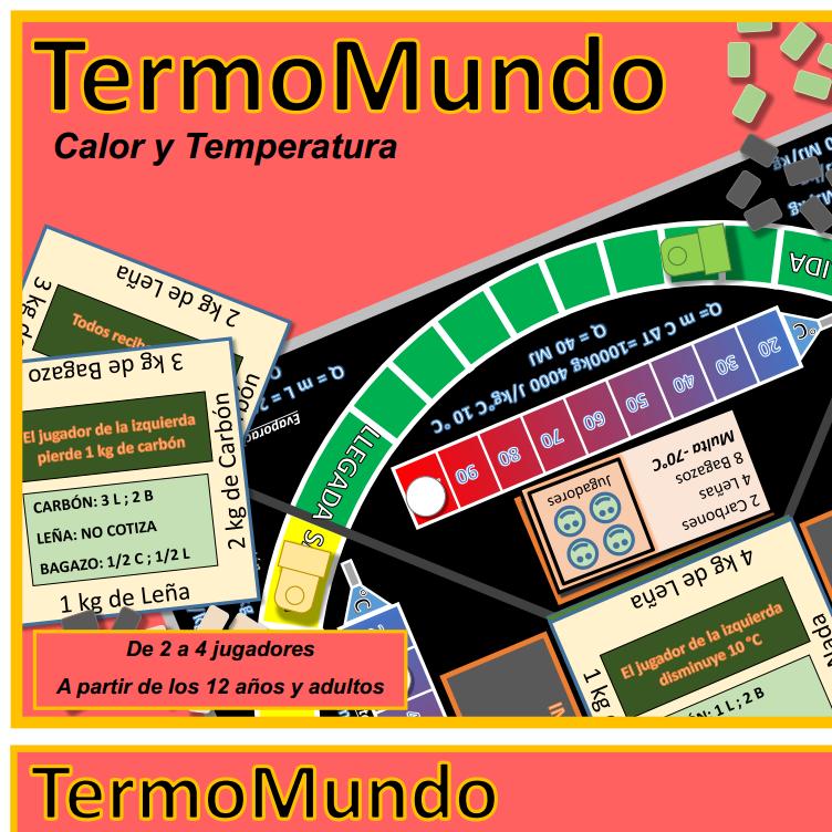 juego de mesa física energía térmica
